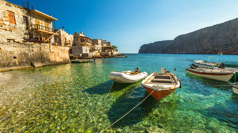 Europe's hidden coasts: the Deep Mani, Greece