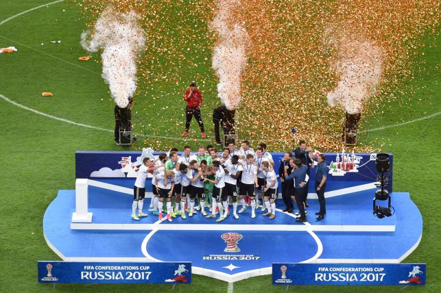 Germany win first Confederations Cup